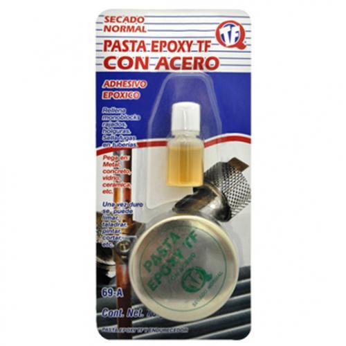 Pasta epoxi con acero adhiere pegamento para metales y for Pasta para pulir metales