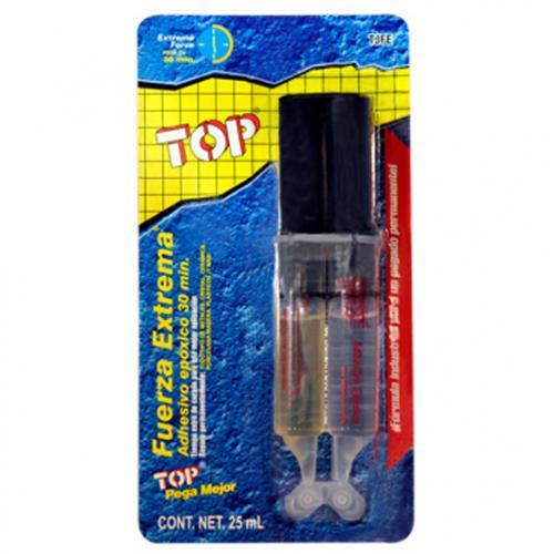 Top adhesivo fuerza extrema instantaneo pegamento plastico metal multiusos top - Vidrio plastico transparente precio ...