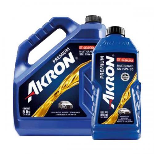 Aceite De Motor Akron Premium Api Sm Sae 20w50 En E