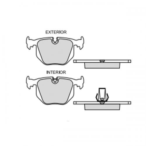 balata freno de disco raybestos professional grade trasera
